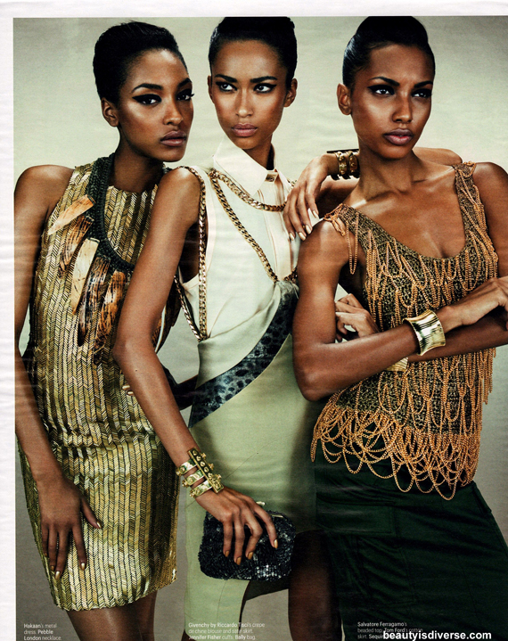 w magazine jourdan dunn