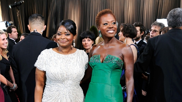 octavia spencer and viola davis at the oscars