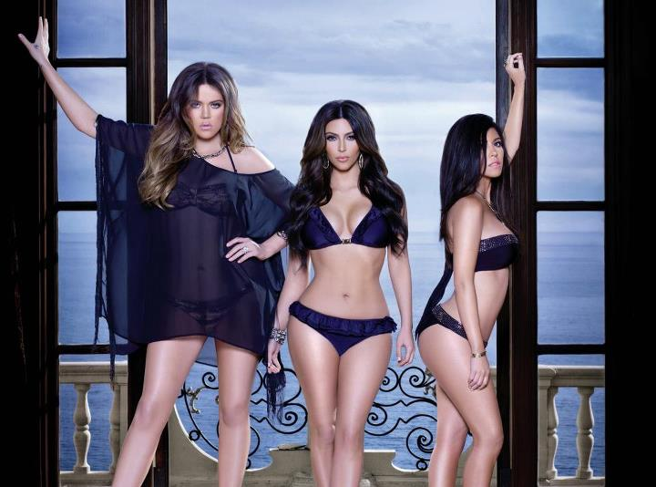 kardashian swimwear collection